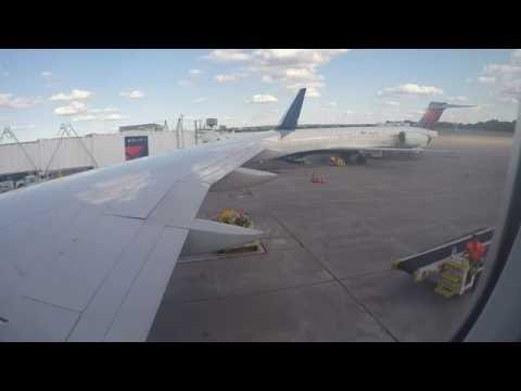 Delta Air Lines 757-200 Full Flight from Minneapolis to Los Angeles