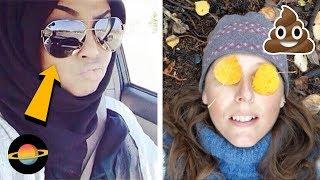 10 największych wpadek podczas robienia selfie, cz. 3