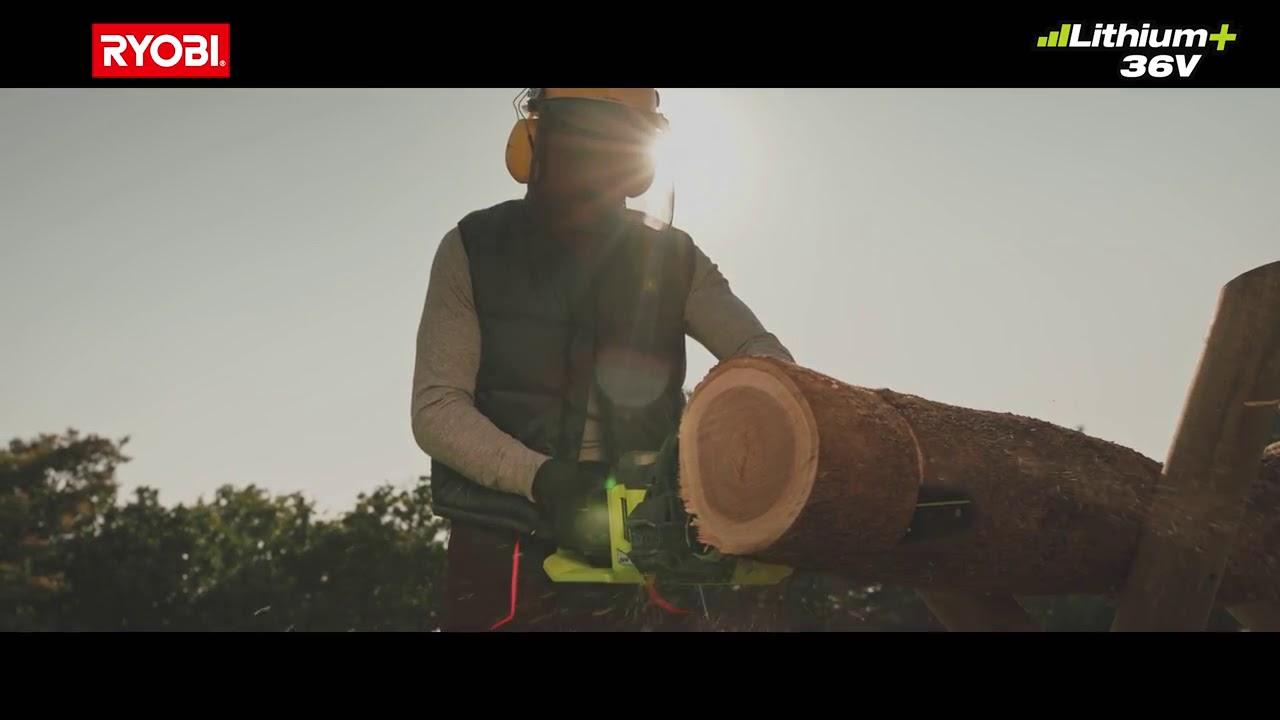 Les outils de jardin sans fil 36 V - YouTube