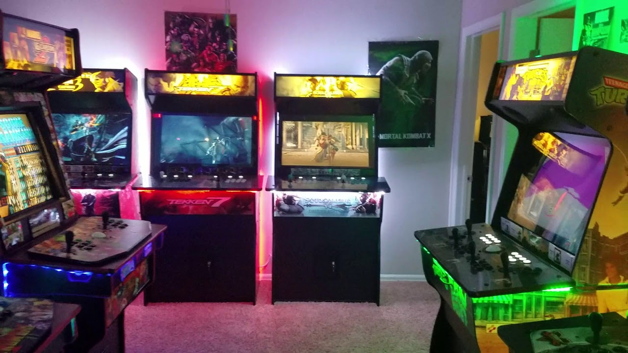 Home Arcade Walthrough March 2019 Game Room Update Youtube