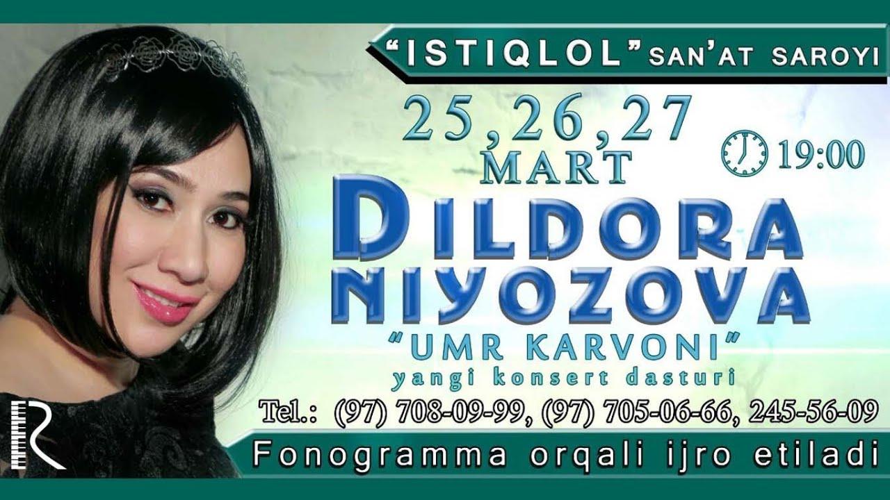Dildora Niyozova - Umr karvoni nomli konsert dasturi 2016 #UydaQoling