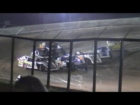 UEMS E-Mod Heat Three | Eriez Speedway | September Sweep | 9-23-16