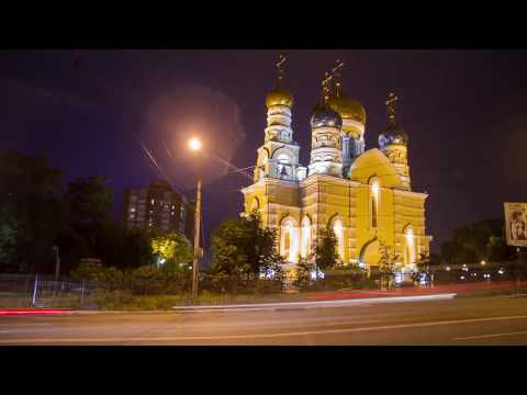 Ночной Владивосток Таймлапс / Night Vladivostok TimeLapse