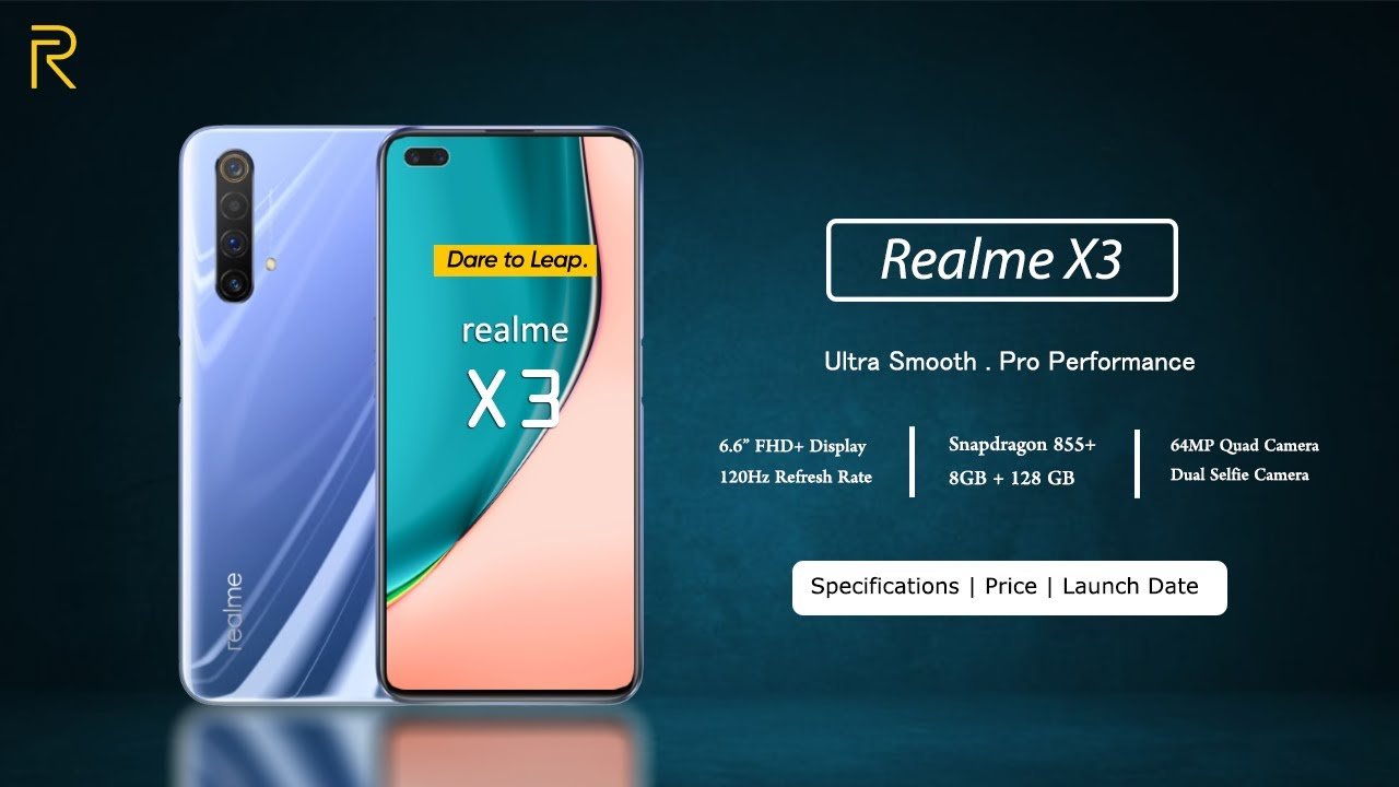 Realme X3 Is Coming Specifications Price India Launch Youtube