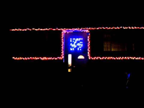 Arduino controlled GE G35 Color Effects Christmas lights w/ simple animation - Arduino Controlled GE G35 Color Effects Christmas Lights W/ Simple