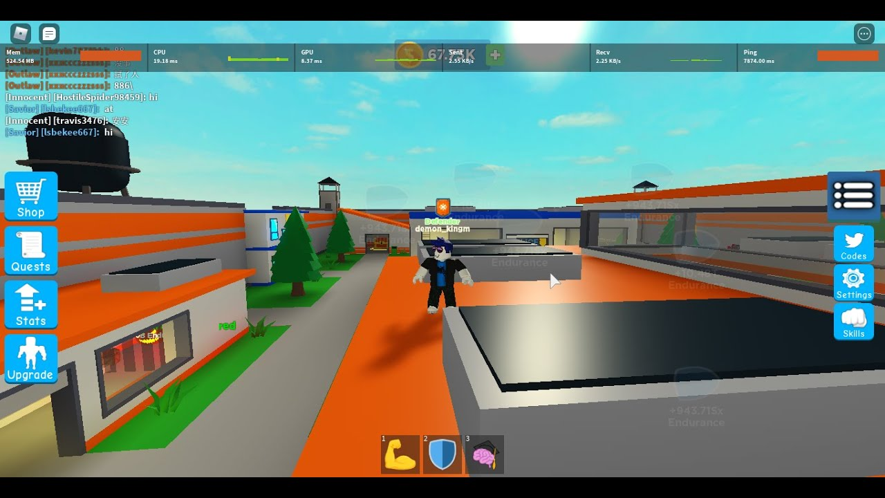 super power figting simulator *new update*