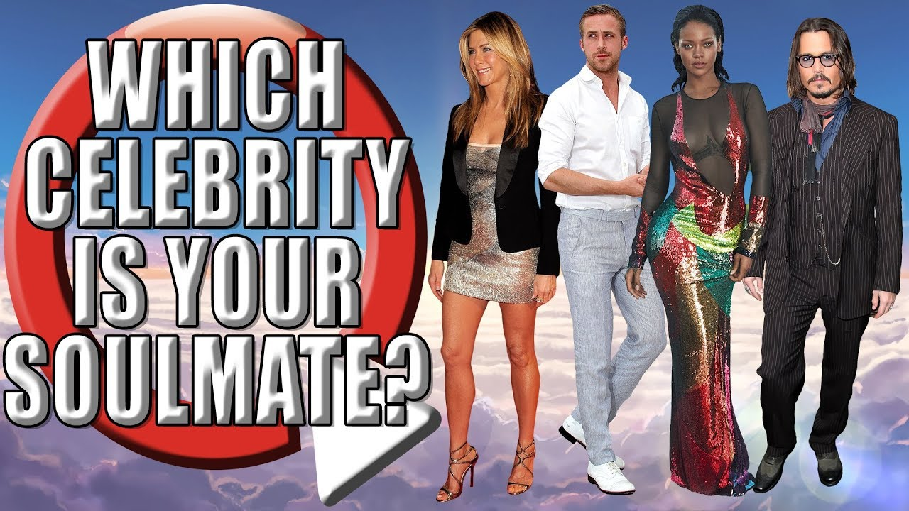 Which Celebrity Is Your Soulmate Celebrity Quiz Youtube