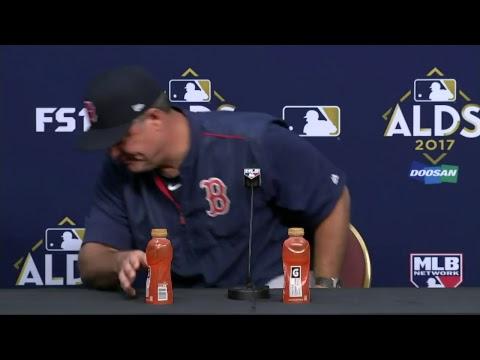ALDS Live Press Conference: Boston Red Sox