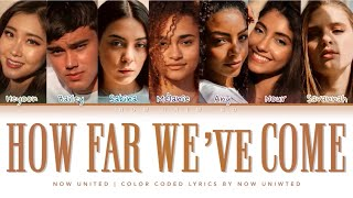 Now United How Far We Ve Come Color Coded