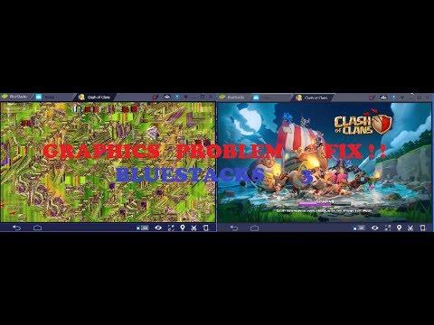 BLUESTACKS 3 GRAPHICS PROBLEM OF COC FIX!!|ONOM KING