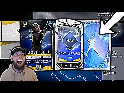 MULTIPLE DIAMOND PULLS! POTM JOSH BELL UNLOCKED! MLB THE SHOW 19 PACK OPENING!