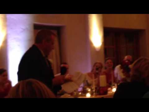 father of the groom wedding toasts funny