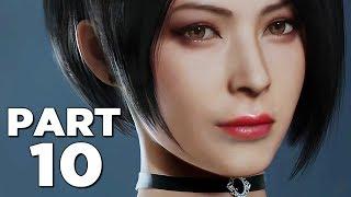 RESIDENT EVIL 2 REMAKE Walkthrough Gameplay Part 10 - ANNETTE (RE2 LEON)