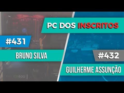 PC dos inscritos Bruno Souza #431 e Guilherme Assunção #432