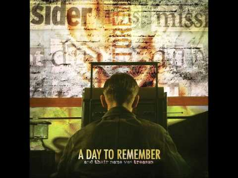 A Day To Remember - Casablanca Sucked Anyways