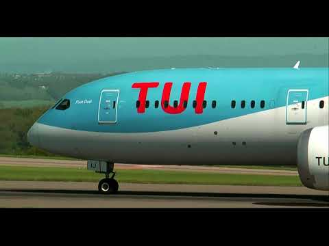 First Ever TUI 787-900 - Bristol Airport - 9/5/18