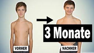 MEIN 15 JÄHRIGER BRUDER HAT KRASS MUSKELN AUFGEBAUT  | 3  Monate Transformation