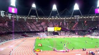 London Olympic Stadium Seat Lighting
