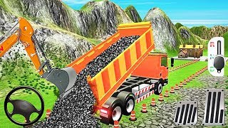 Highway Construction Game - Construction Simulator Truck Builder Road - Best Android Gameplay