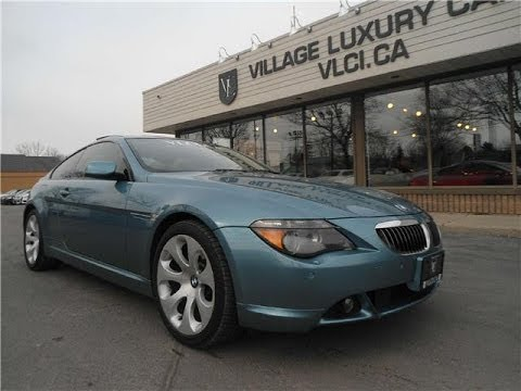 2005 Bmw 645ci In Review Village Luxury Cars Toronto Youtube