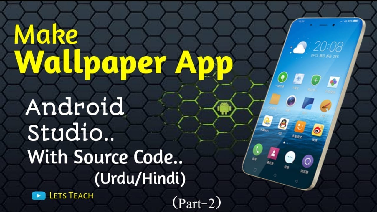 How To Make Android Wallpapers App In Android Studio With Source Codepart 2 Urduhindi