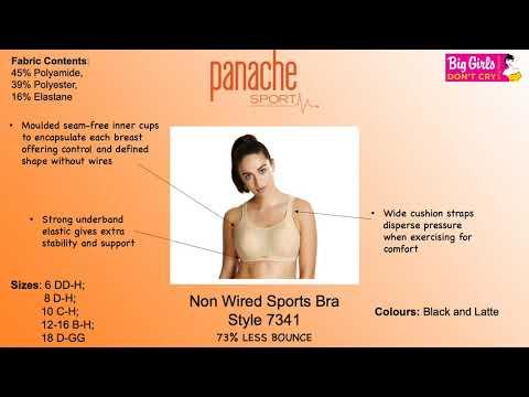 PANACHE SPORT - 7341CM - Non-Underwired Sports Bra - Big Girls Don't