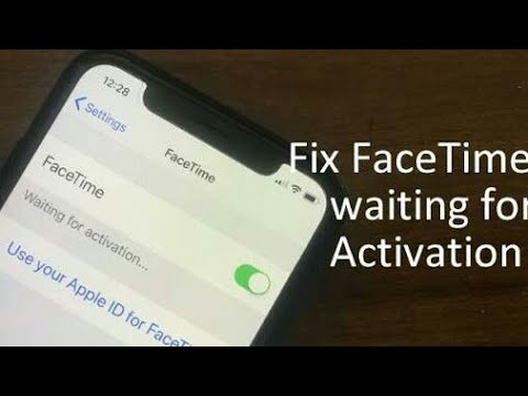 FaceTime waiting for activation On iPhone fix all IOS
