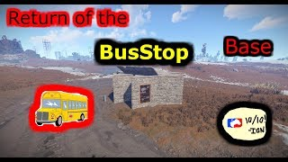Rust Bus Stop Base Design