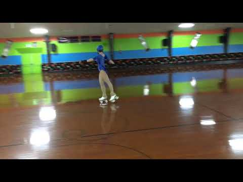 Artistic Roller Skating American Continental Waltz February 6, 2018