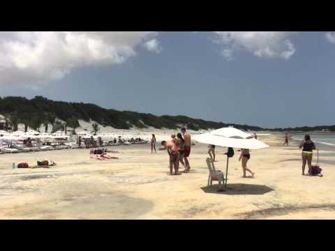 Gay Brazil Travel - Blue Lagoon near Fortaleza - World In Color Tours