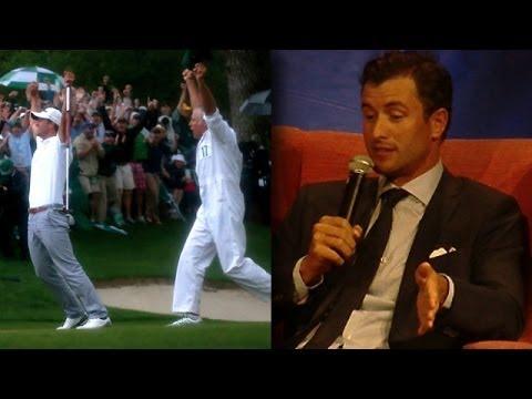 2013 PGA Grand Slam of Golf: Adam Scott explains caddy