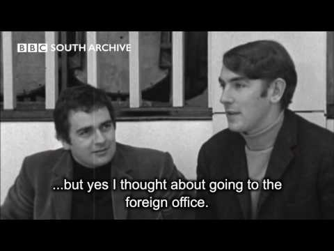 Peter Cook & Dudley Moore Interview and behind the scenes of Not Only But Also 1966