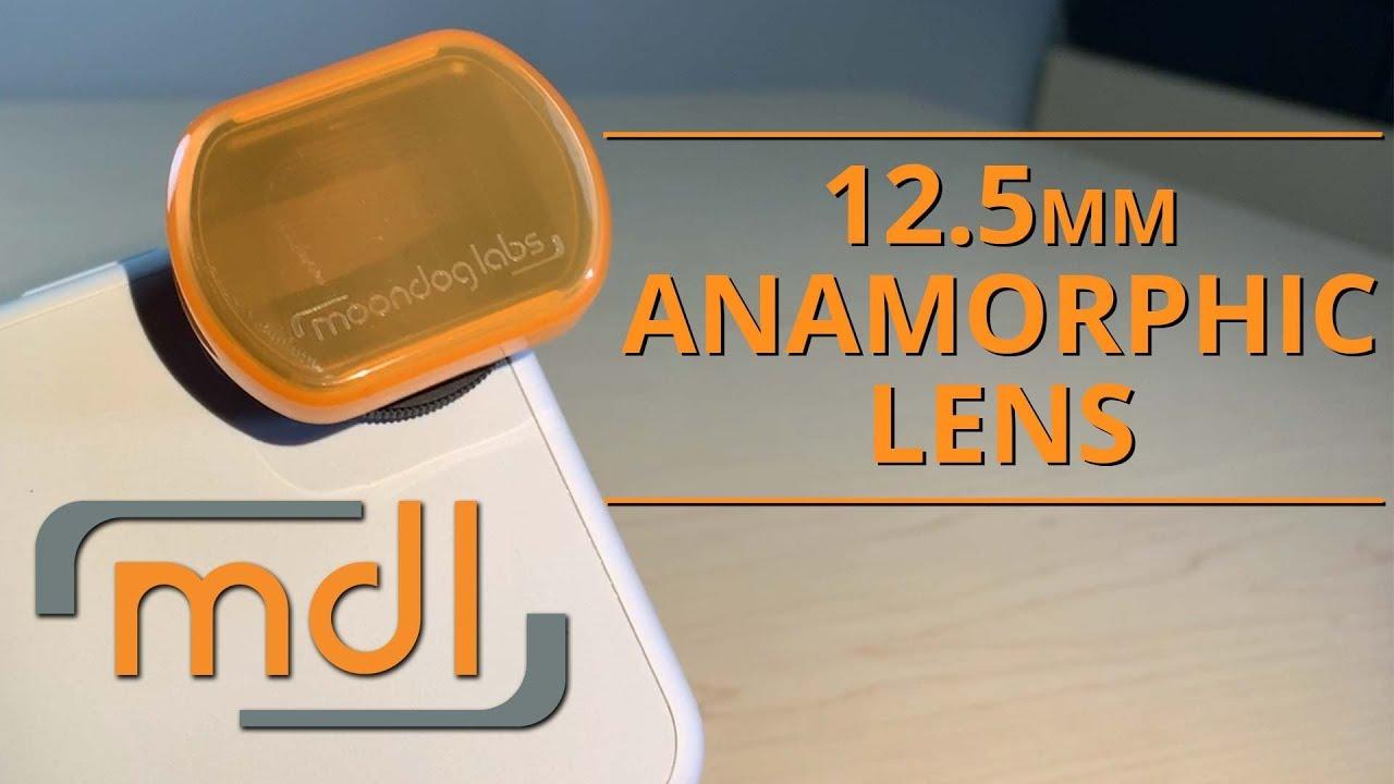 1 33X Anamorphic Lens - 12 5 mm thread