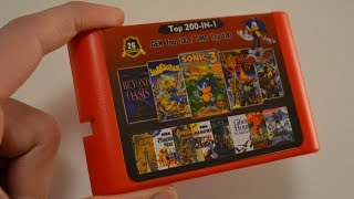 Next Generation SEGA Multi Game Cart is HERE !!