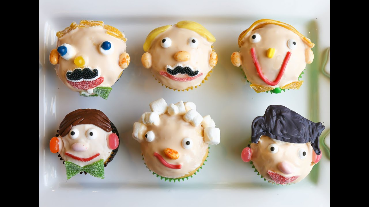 Father S Day Cupcakes Kids In The Kitchen Youtube