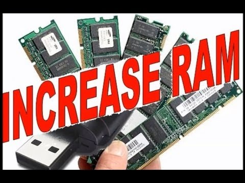 how to add ram to computer with usb