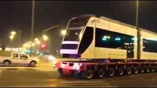 Qatar metro train