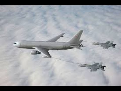 Boeing's, The First KC-46 Airplane Refueling Tanker For, US Air Force Today 2017