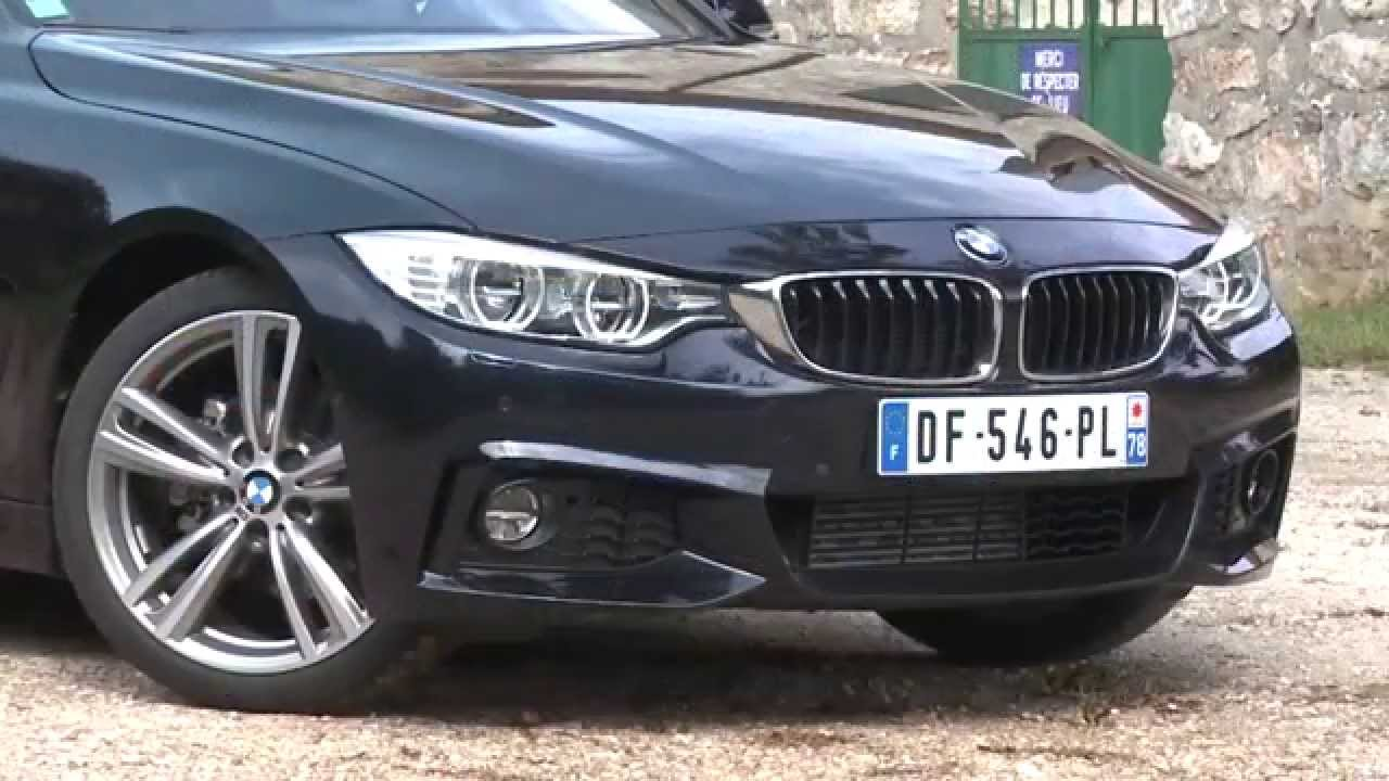essai bmw s rie 4 gran coup 2 0 d 184ch m sport youtube. Black Bedroom Furniture Sets. Home Design Ideas