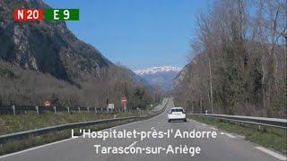 [F] N20 L'Hospitalet-près-l'Andorre - Tarascon-sur-Ariège