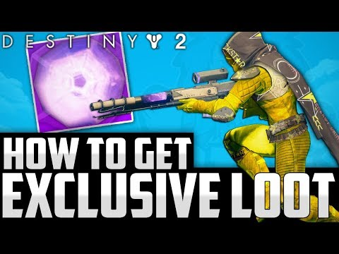 Destiny 2: HOW TO GET 24 EXCLUSIVE LEGENDARY ENGRAMS & DIABETES - Rockstar Promotion Exclusive Gear