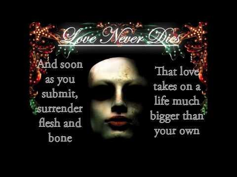 Love Never Dies - Love Never Dies - Karaoke/Instrumental [w/ Lyrics]