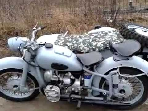 Ремонт мотоцикла К-750 (Днепр-12. М-72 ). Заводится, но не едет .