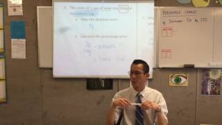 General 2 Quiz (1 of 2: Algebra Manipulation, Scientific Notation & Percentage & Absolute Error)