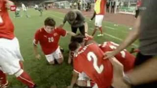 Jubel nach Schweizer U-17 WM-Sieg