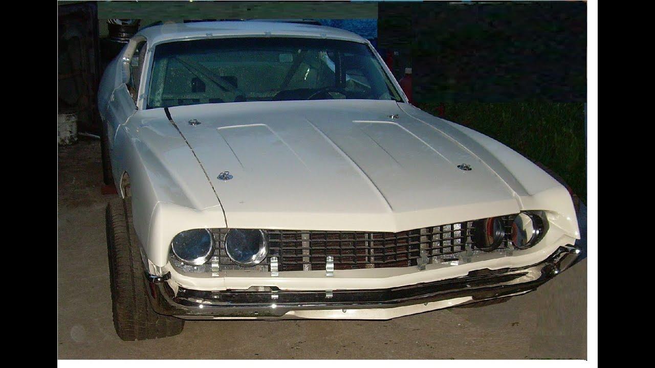1970 Ford Torino Holman Moody Chassis Nascar Boss 429