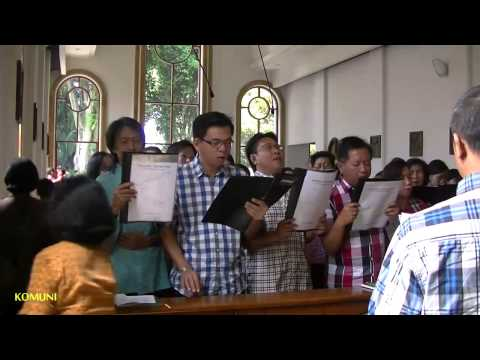 Pelayanan Koor Di Gereja Maria Fatima Lembang