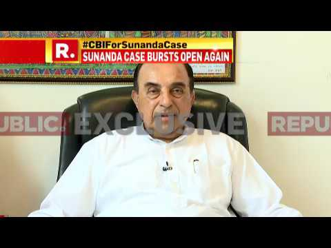 Dr Subramanian Swamy speaks to Republic TV on Sunanda murder case | Republic TV