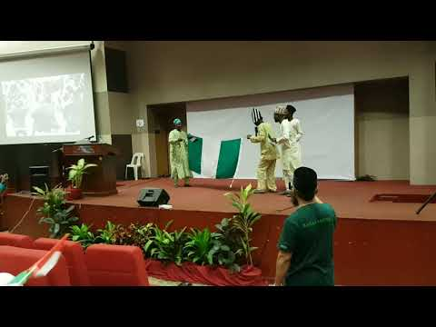 Nigeria on stage,cultural exhibition USIM