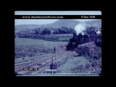 Tralee and Dingle Railway.  Archive film 508